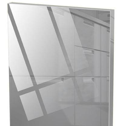 acrylic / A60 šedá lesk