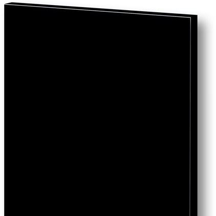 acrylic / A12M černá mat