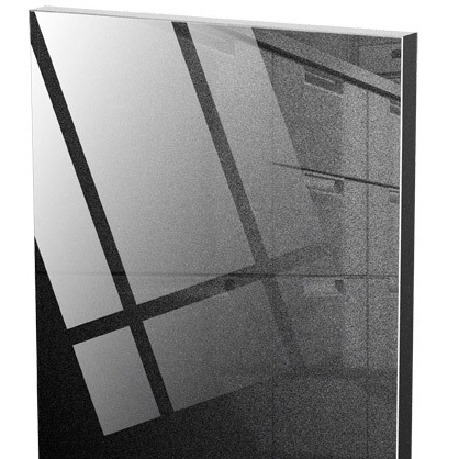 acrylic / A08 černá metalíza lesk