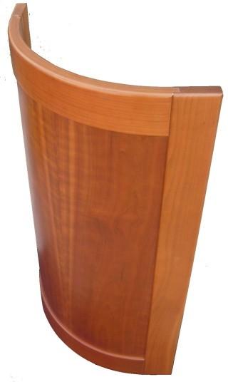 dvířka dřevěná MONA oblouk