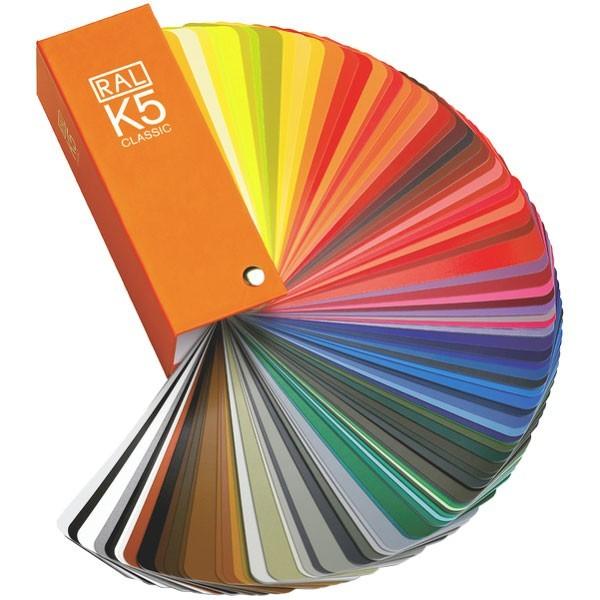 vzorník barev RAL K5 lesk