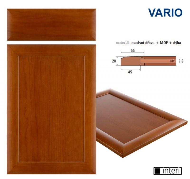 dvířka dřevěná VARIO třešeň 574