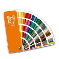 vzorník barev RAL K7